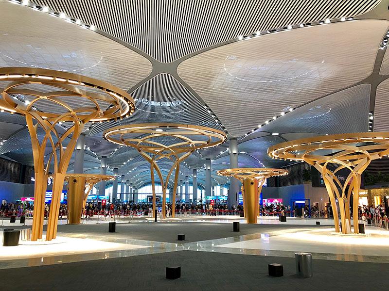 KAYSERİ BASALT IMPLEMENTATION IN ISTANBUL AIRPORT